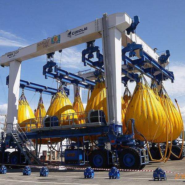17 – Izado de Cargas Sumergidas JW AUTOMARINE. – Marine Logistics